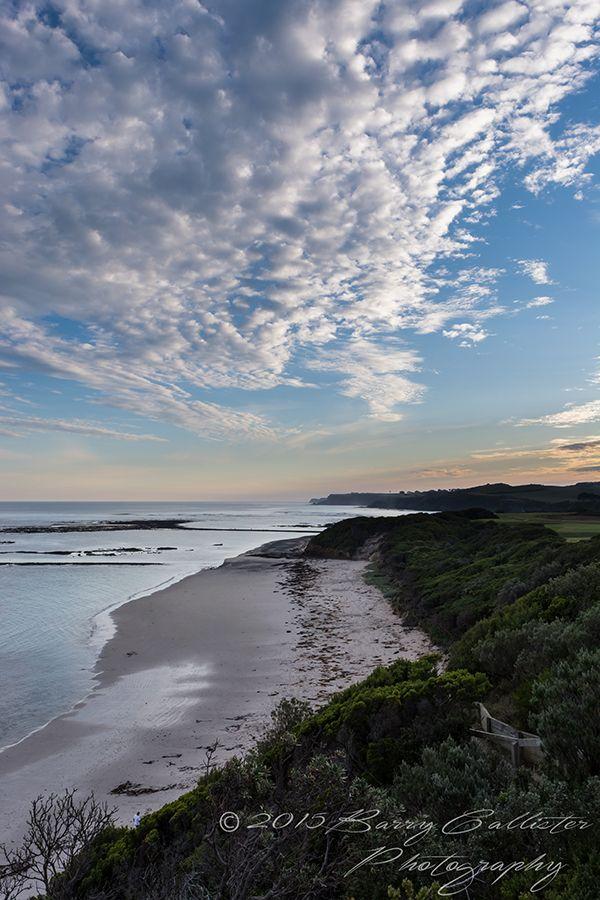 Dusk at Flinders on The Mornington Peninsula, Victoria, Australia