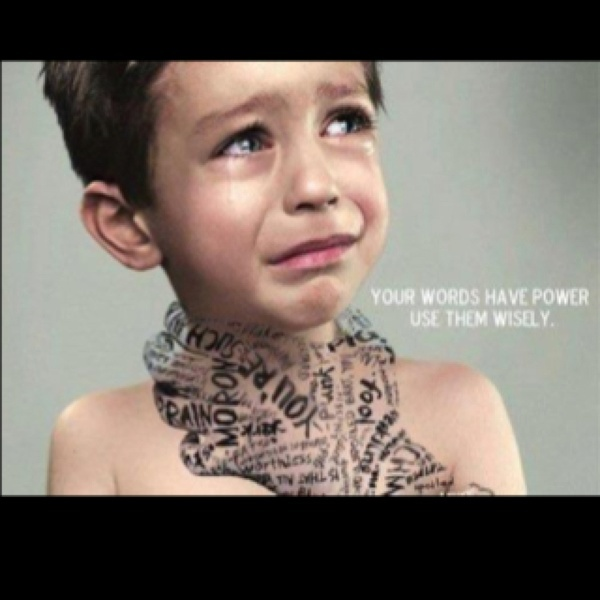 powerful imageWords Hurts, Parents, Remember This, Heart, Quotes, So True, Children, Kids, Power Of Words