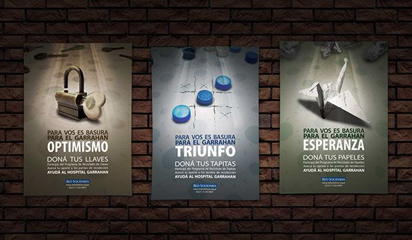 Red Solidaria - Campaign Design Poster on Behance