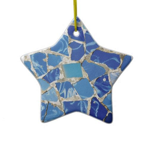 """Sold this """"Gaudi Mosaics With an Oil Touch Ornament"""", to a customer in NJ :) ( http://www.zazzle.com/gaudi_mosaics_with_an_oil_touch_ornaments-175081792525404995?style=star&view=113198809904711029&rf=238785087520234895 )"""