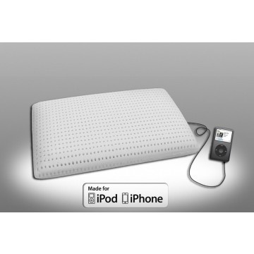 Sometimes mom just wants a break. Like, extra time to sleep. She will sleep sweetly with this Memory foam pillow with integrated speaker in which she can play relaxing sounds to block out the hectic world.