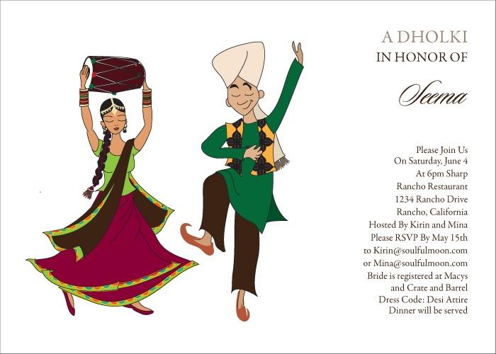 46 best Indian Bridal Shower Invites images on Pinterest Indian