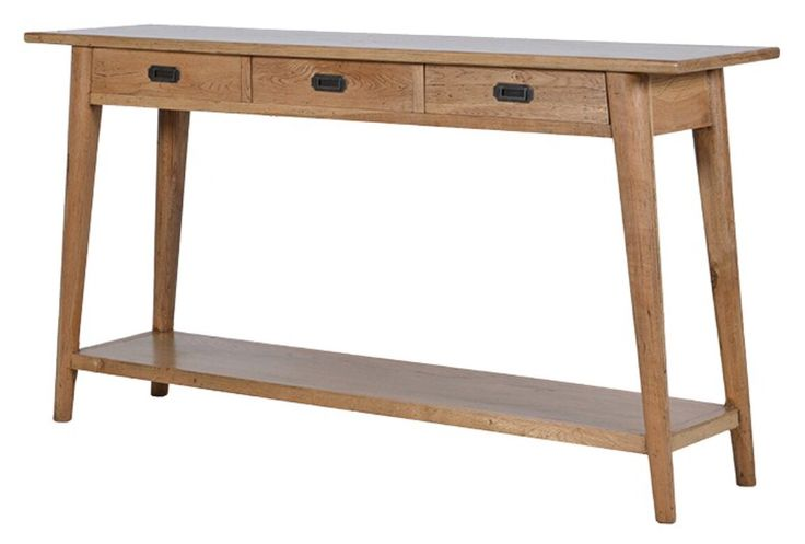 Console table to be reversed onto sofa with table lamps on. This will provide some furniture detail for the snug area.