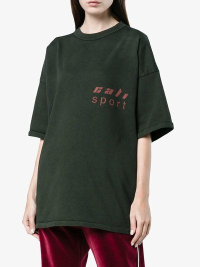 Yeezy Black loose fit logo t shirt