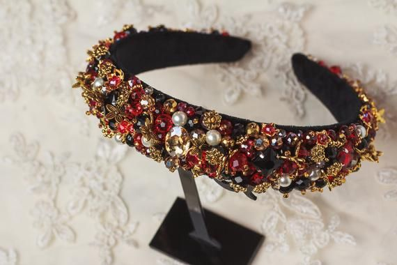 So Sparkly Festival Fashion Embellished Bejewelled Headband Hair Band Head Band