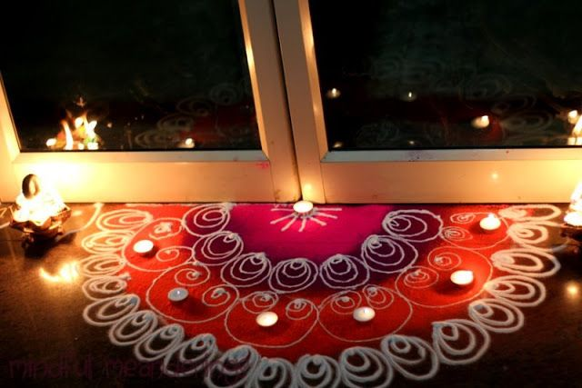 door rangoli design