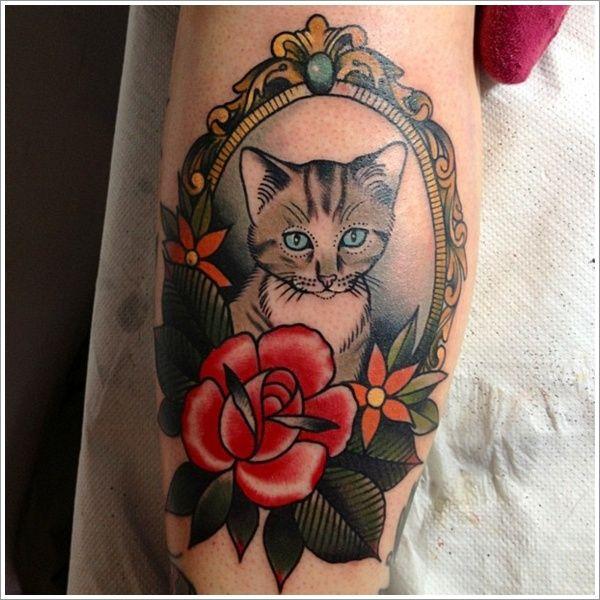 Best 25+ Cat Tattoo Designs Ideas On Pinterest