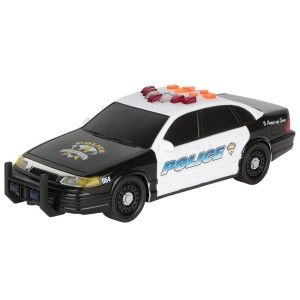 Toy State 14″ Rush And Rescue Police And Fire – Police Car