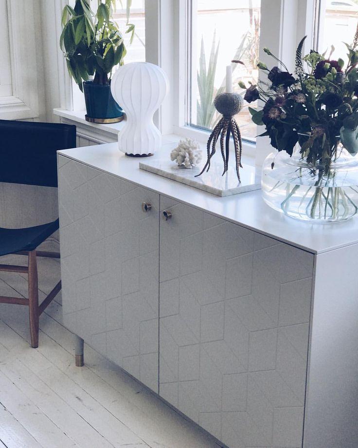 """75 gilla-markeringar, 3 kommentarer - Susan Törnqvist (@interiorbysusan) på Instagram: """"Godmorgon bästa ni♡ Här ser ni resultatet av mitt senaste Ikea hack Hur snyggt?! Jag älskar hur…"""""""