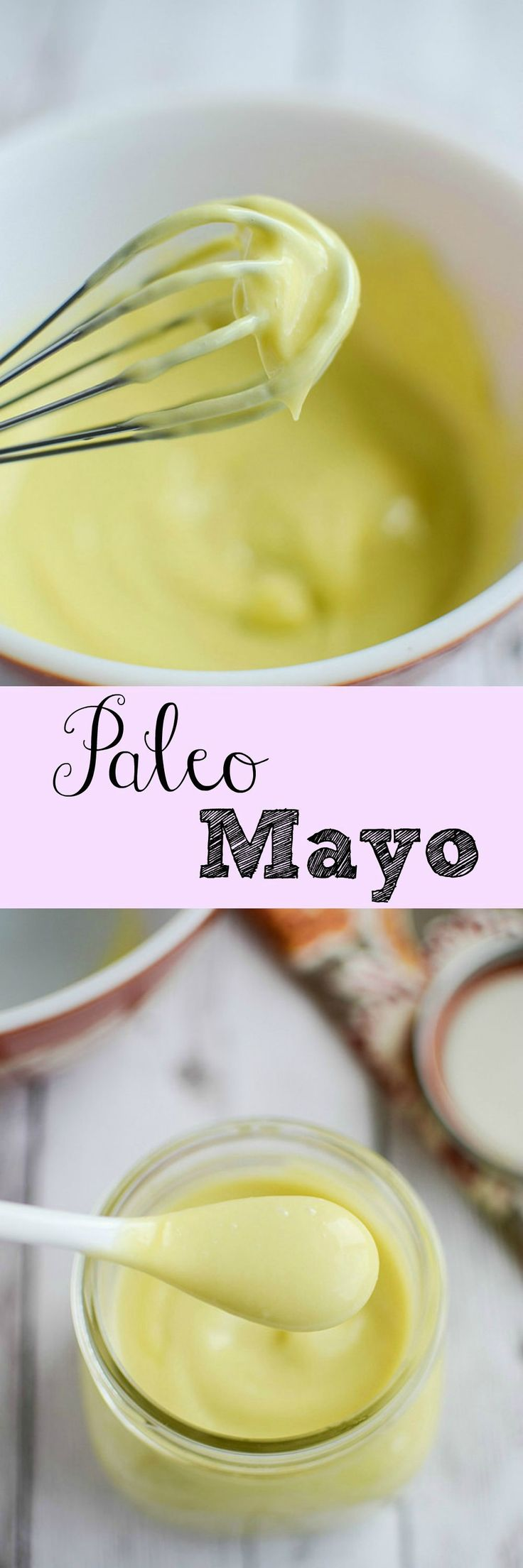 Homemade Paleo Mayo - you won't believe how easy this homemade mayo recipe is!