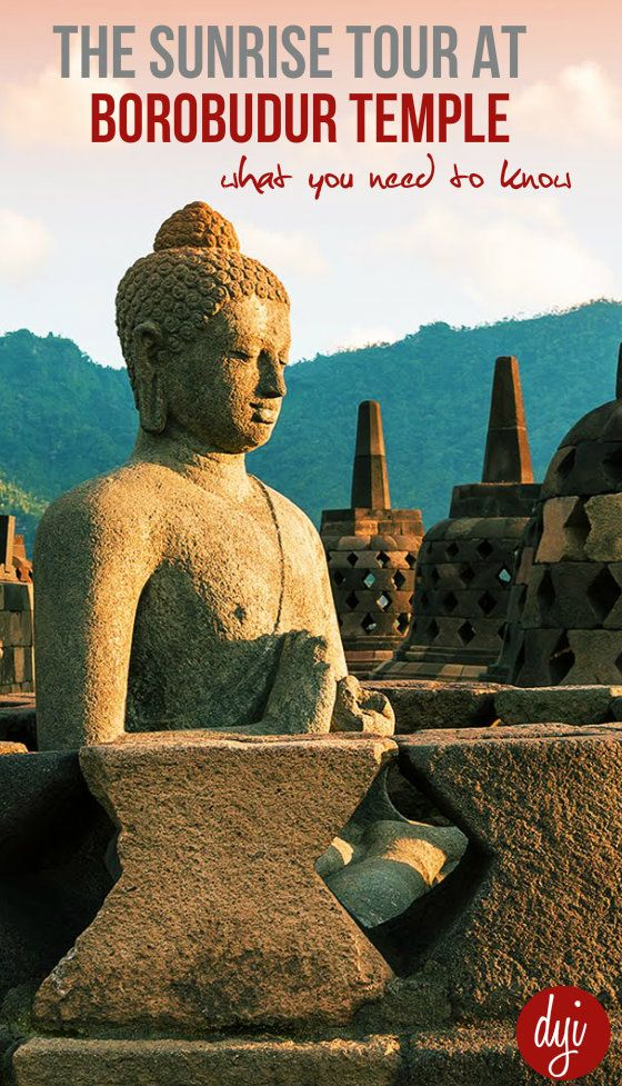 Sunrise over Borobudur Temple is one of the highlights of Yogyakarta. Find out how to arrange the tour and what to expect when you visit Borobudur and Prambanan.