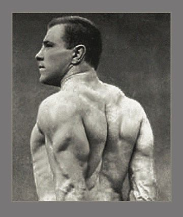 George Hackenschmidt. This photo is over 100 years old... #progress