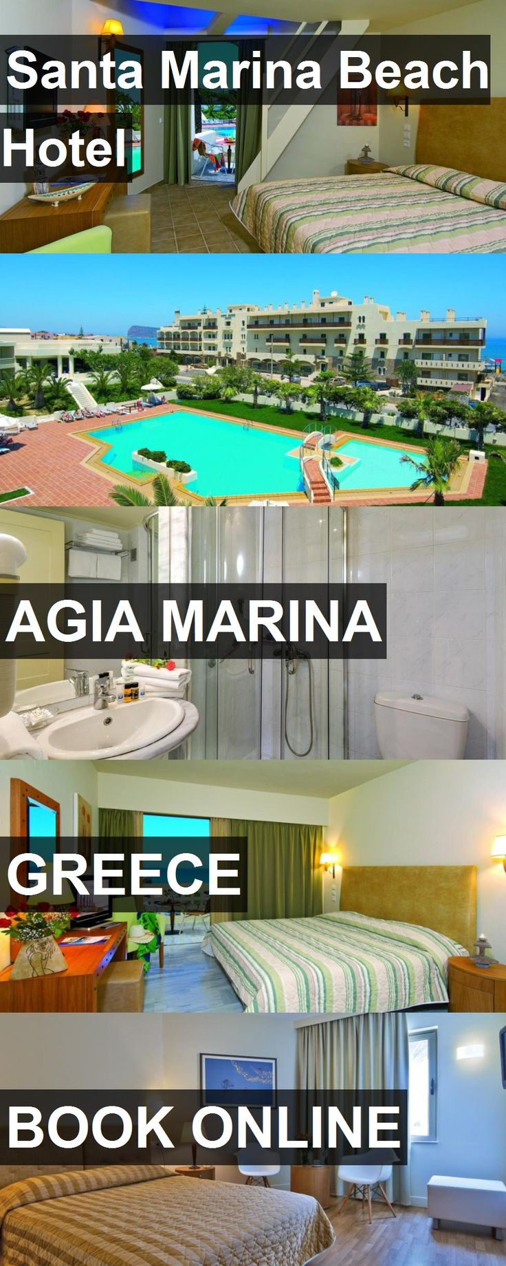 Santa Marina Beach Hotel in Agia Marina, Greece. For more information, photos, reviews and best prices please follow the link. #Greece #AgiaMarina #travel #vacation #hotel