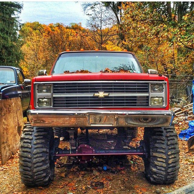 K5mobber Squarebody Lifted Chevy Higher The Lift Closer To