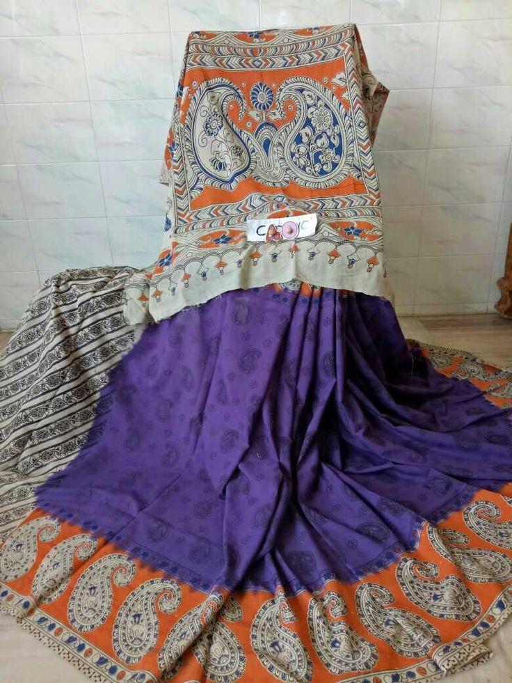 Kalamkari cotton sarees 99