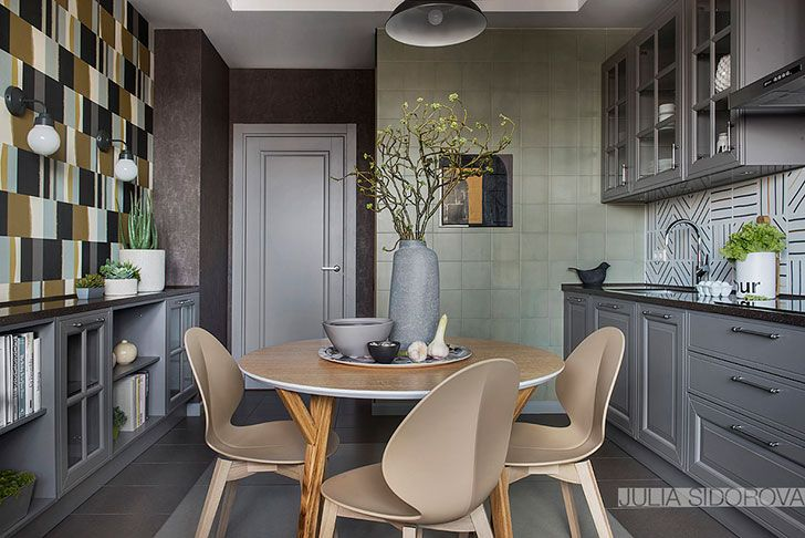 Wonderful apartment in muted tones in Moscow, Russia | PUFIK. Beautiful Interiors. Online Magazine