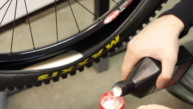 How to install Stans Notubes tire system. Installation Guide: Deflate and dismount the tyre. Remove the inner tube. See the yellow tape; this is the tape tha...