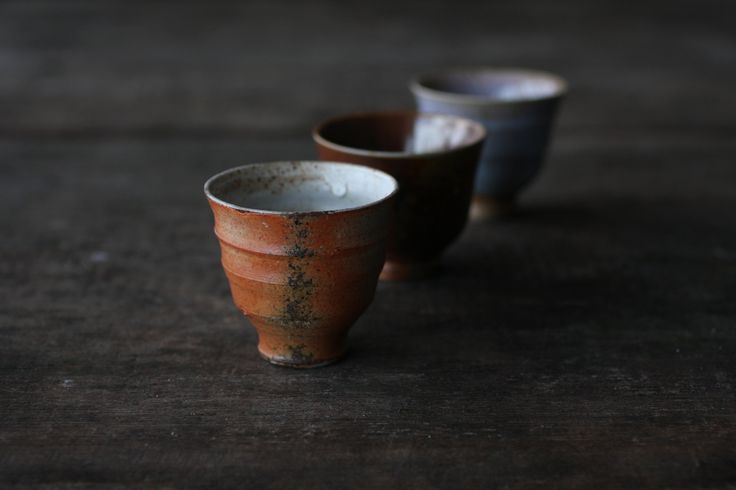 Large Gong Fu cups by Jyrki Repo Ceramics