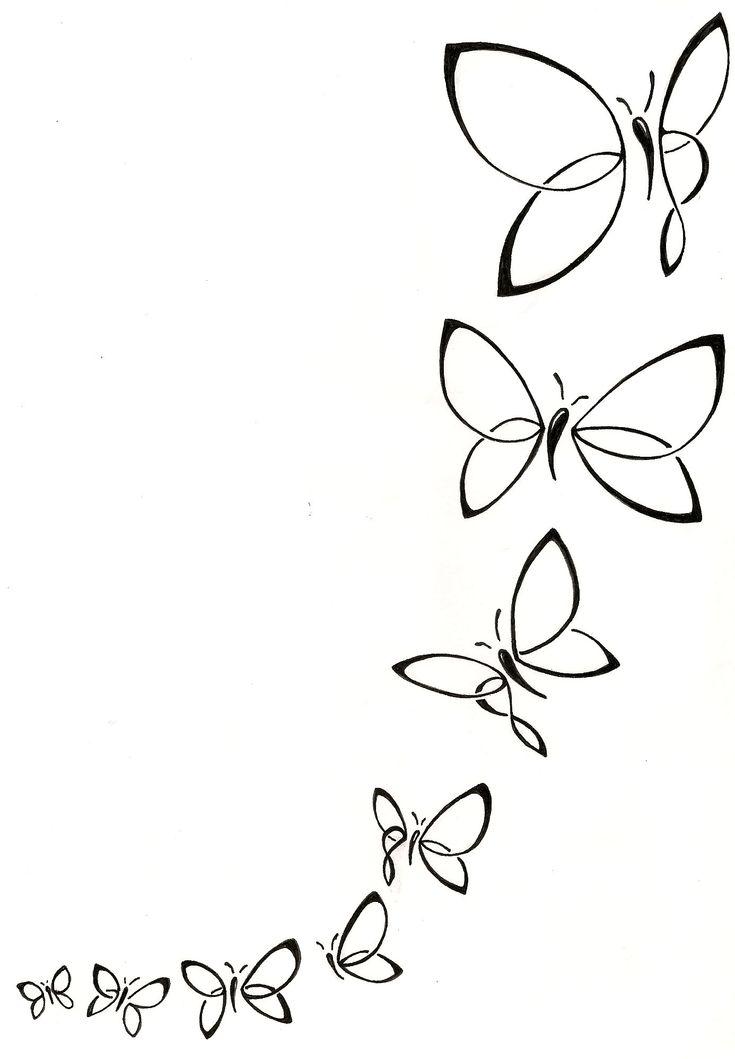 Foot to ankle feminine butterfly tattoo.  Feminine tattoo, Black and white tattoo. Custom tattoo design. www.silverwingsart.com