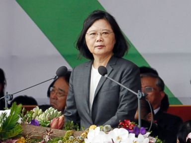 ABC News - Taiwan's President Tsai Ing-wen is setting off for the United States and three South Pacific nations in an effort to crack the diplomatic isolation imposed by rival China. Tsai will visit the Marshall and Solomon Islands along with Tuvalu starting Saturday, while transiting through Hawaii...
