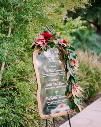 """See the """"Dinner Is Served"""" in our A Jewel-Toned Vintage Palm Springs Destination Wedding gallery"""