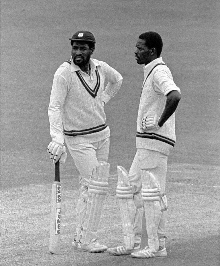 Viv Richards and Collis King