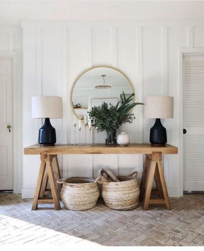 5 Simple Updates To Design An Inviting Entry Becki Owens House Interior Interior Decor #updating #living #room #ideas