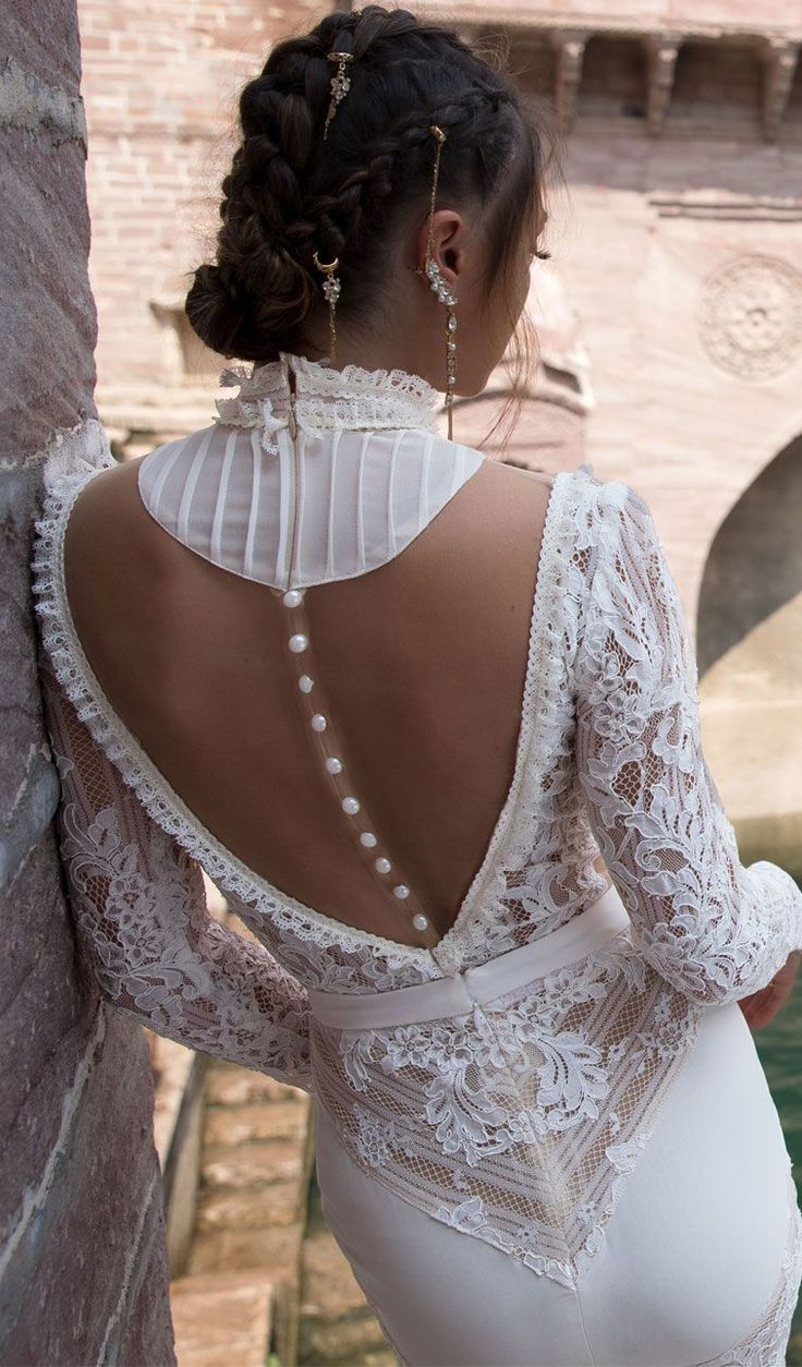 """The Lior Charchy India wedding dresses 2018 """"India 2018"""" Bridal Collection is inspired by the iconic beauty of the...the latest collection features oh-so-delicate looks with a romantic bohemian feel,"""