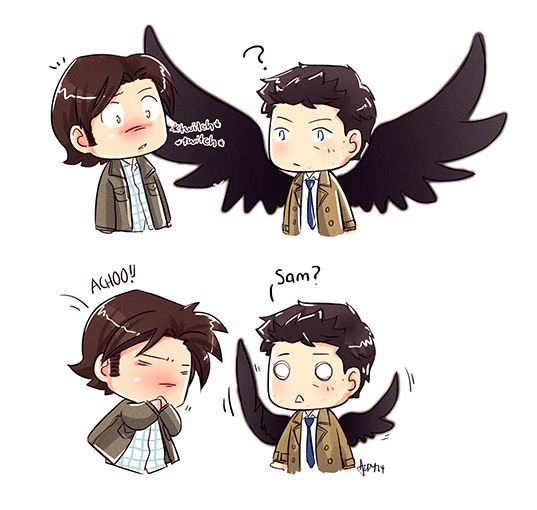 Lucifer X Male Reader: 230 Best Images About Sam And Cas On Pinterest