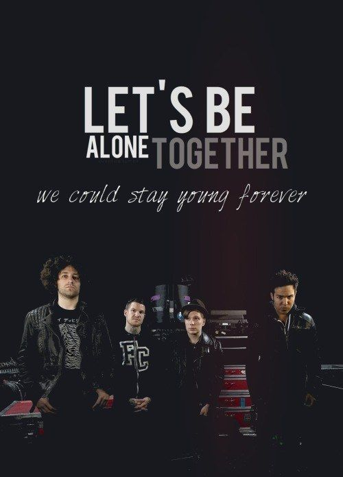 40 Fall Out Boy Lyrics Every Emo Kid Lived For