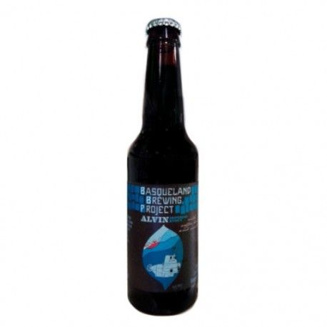 Nuestra cerveza artesana Alvin es una robusta Stout Imperial que mejora con el tiempo. La cerveza está infusionada con granos de café recién tostados y cáscaras secas de café de Sakona Coffee Roasters (Irún-Donostia), junto con vainas enteras de vainilla.