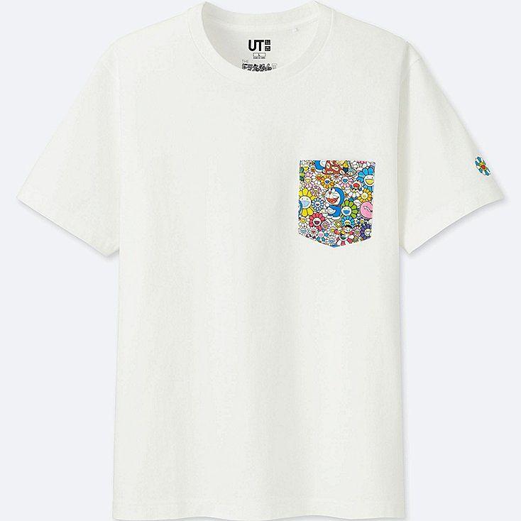 doraemon x takashi murakami short sleeve graphic t shirt uniqlo shirt designs takashi murakami