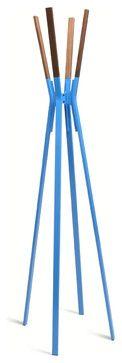 Blu Dot Splash Coat Rack, Bright Blue - modern - Coatracks And Umbrella Stands - Blu Dot