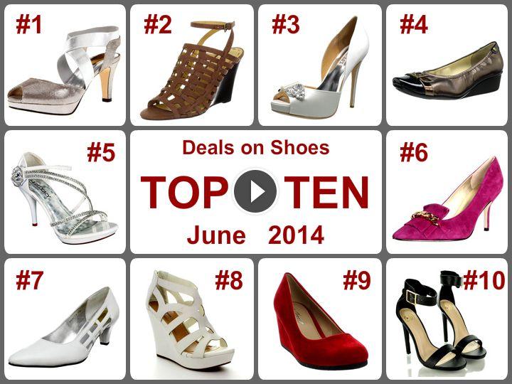 TOP 10 Amazing Deals on Shoes (June 2014). Learn more -- https://www.facebook.com/AmazingDailyDealsSite