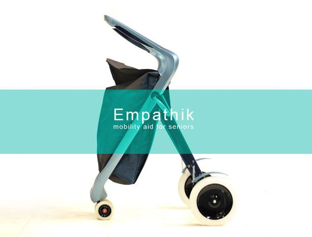 Empathik Mobility Aid for Seniors Doubles As A Shopping Trolley | Tuvie