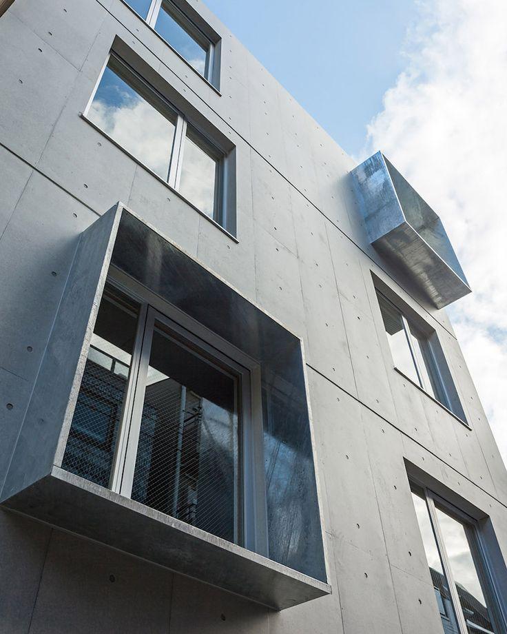 sasaki architecture + atelier O construct concrete apartment complex in tokyo