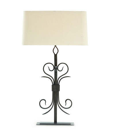 Cranleigh Forged Natural Iron Lamp