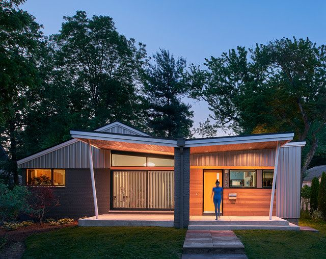 57 Best Mid Century Modern Exteriors Images On Pinterest Modern Exterior Modern Homes And