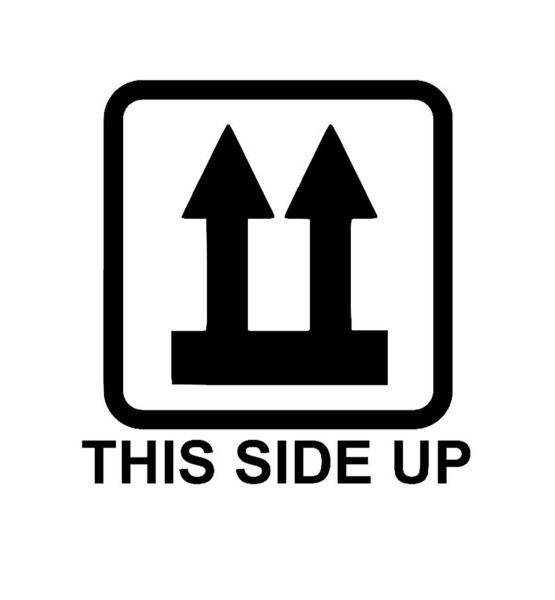 Bügelbild+THIS+SIDE+UP+aus+Flex-Folie+von+Folienschnitt+auf+DaWanda.com