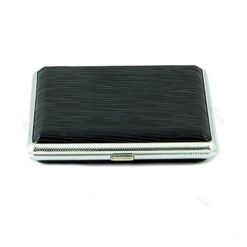 NEW-Leather-Pocket-Cigarette-Tobacco-Case-Box-Holder-20pcs