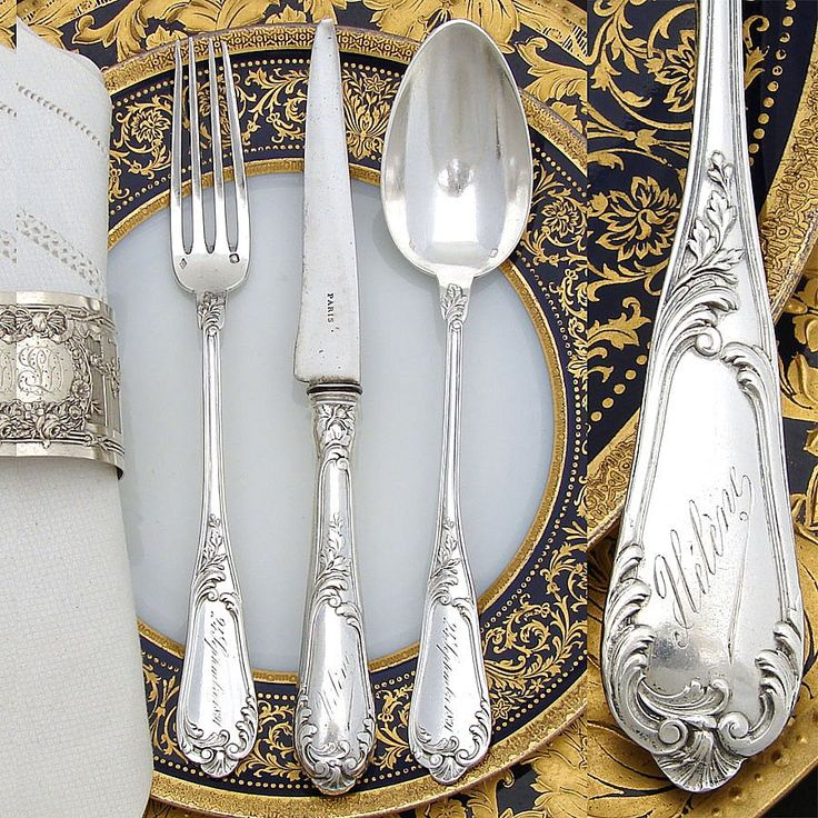 25 best ideas about sterling silver flatware on pinterest. Black Bedroom Furniture Sets. Home Design Ideas