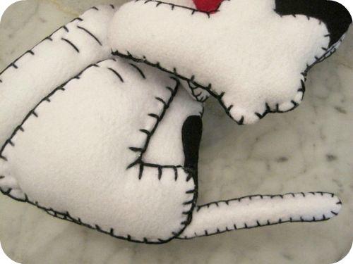 Coda e dorso di Snoopy