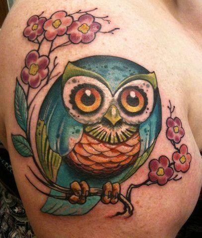 Fantastic owl