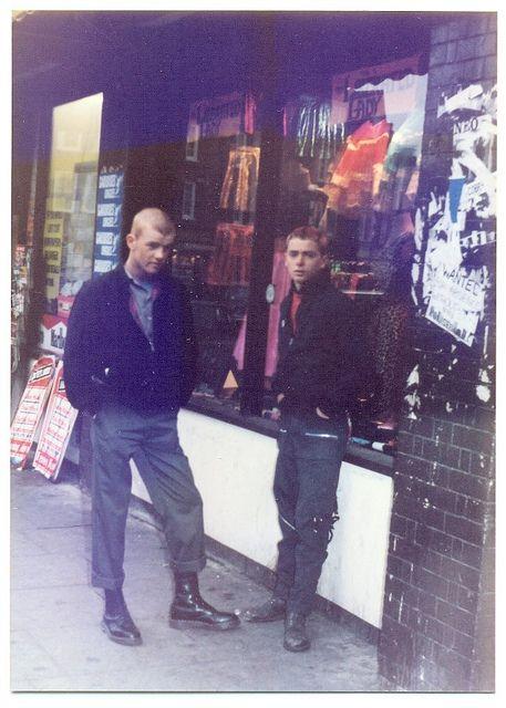 Punks in Brighton (1978) by Paul-M-Wright, via Flickr