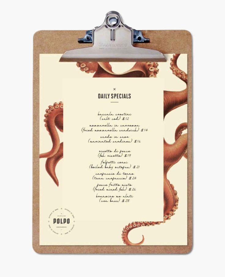 20 impressive restaurant menu designs - Restaurant Menu Design Ideas