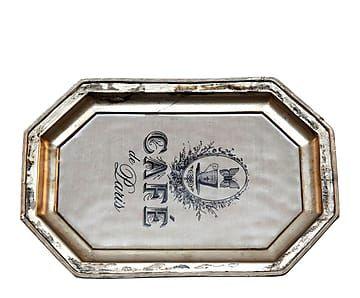 Bandeja de metal Serve – 30x20 cm