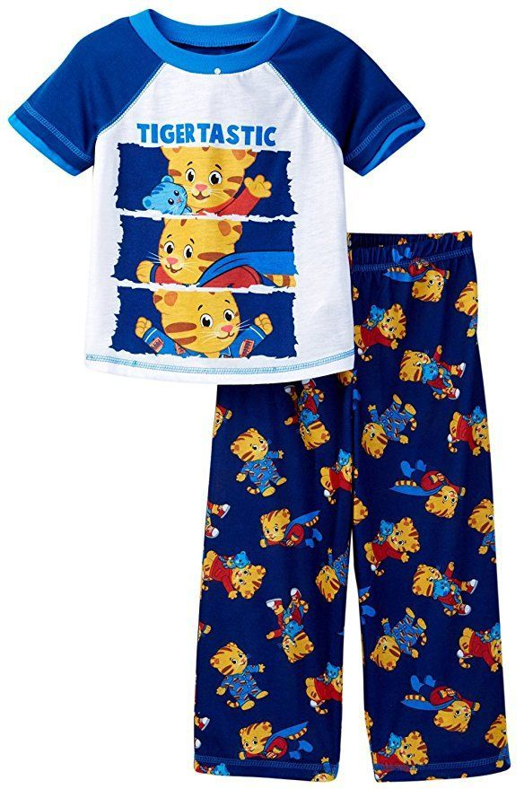 Daniel Tiger Neighborhood Toddler Pajamas Tigertastic Blue Your little one  will love this Daniel Tiger Super Daniel themed set! perfect for sleeping  or ... d861c1cfc