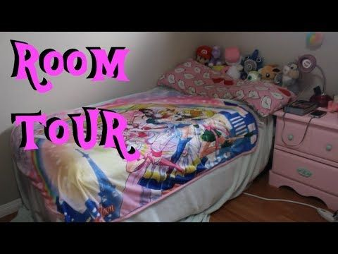 Room Tour! My Pink, Pastel, Nerdy Bedroom