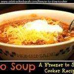 Taco Soup (Freezer to Crockpot)