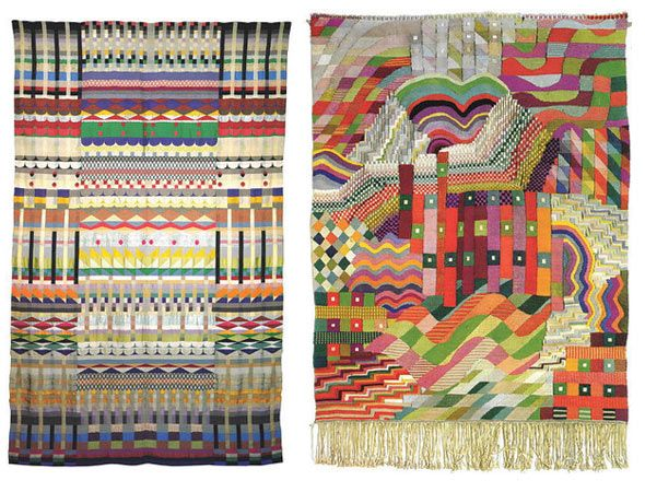 As Topshop fashion director said, this season they referenced a lot bauhaus geo print. If aw2012 is all about Aztec, then maybe we can foresee bauhaus craze taking over the market